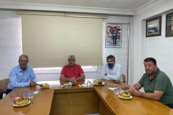 Mersin Ziraat Odası Başkanlığımızı, Akdeniz İlçe Başkanımız Semih Palamut ile birlikte ziyaret ettik.