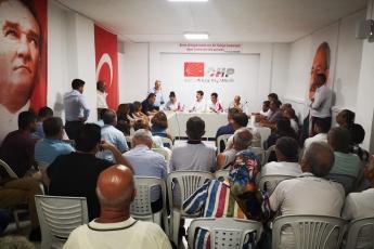 CHP Bozyazı İlçe Örgütü Danışma Kurulu Toplantısına Katılımımız.-01