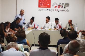 CHP Bozyazı İlçe Örgütü Danışma Kurulu Toplantısına Katılımımız.-02