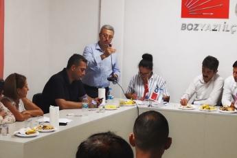 CHP Bozyazı İlçe Örgütü Danışma Kurulu Toplantısına Katılımımız.-03
