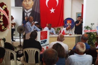 CHP Anamur İlçe Örgütü Danışma Kurulu Toplantısına Katılımımız.-03