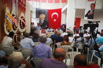 CHP Anamur İlçe Örgütü Danışma Kurulu Toplantısına Katılımımız.-04