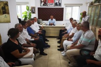 CHP Anamur İlçe Örgütü Danışma Kurulu Toplantısına Katılımımız.-05