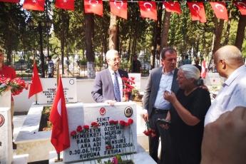 Mersin Kurban Bayramı Şehitlik Ziyaretimiz ve Şehit Aileleri ile Bayramlaşmamız.-05