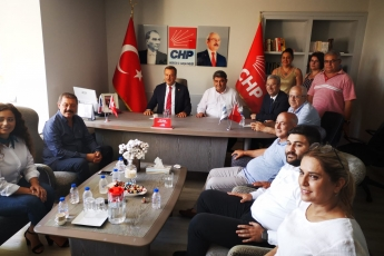 CHP İl Başkanlığı, Akdeniz, Mezitli, Yenişehir, Toroslar İlçe Örgütleri İle Bayramlaşmamız.-05