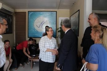 Mersin Klikya Nehir Derneğinde Dernek Yöneticileri ve Üyelerini Bayram Ziyaretimiz.-04