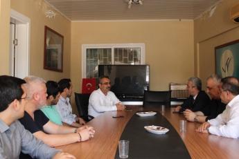 Mersin Klikya Nehir Derneğinde Dernek Yöneticileri ve Üyelerini Bayram Ziyaretimiz.-06