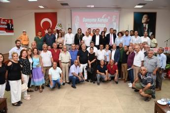 CHP Akdeniz İlçe Örgütü Danışma Kurulu Toplantısına Katılımımız.-07