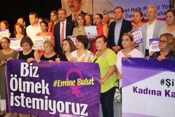 """CHP İl Kadın Kollarının 81 İlde Eş Zamanlı Yaptığı """"Ölmek İstemiyoruz"""" Konulu Basın Açıklamasına Katılımımız.-02"""