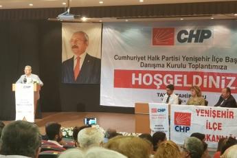 CHP Yenişehir İlçe Örgütü Danışma Kurulu Toplantısına Katılımımız.-03