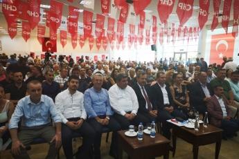 CHP Akdeniz İlçe Örgütü Olağanüstü Kongresine Katılımımız.-01