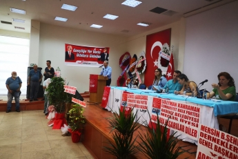 CHP Akdeniz İlçe Örgütü Olağanüstü Kongresine Katılımımız.-04