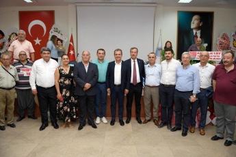 CHP Akdeniz İlçe Örgütü Olağanüstü Kongresine Katılımımız.-05