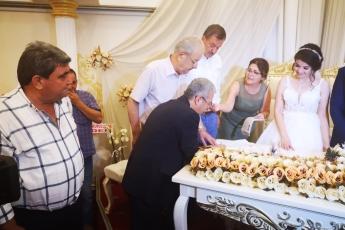 Ceren ŞAHİN ve Ümit YILMAZ Çiftinin Düğününe Nikah Şahidi Olarak Katılımımız.-02