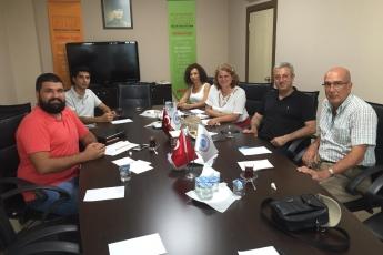Mersin Nükleer Karşıtı Platform'un Basın Açıklamasına Hazırlık Toplantısına Katılımımız.