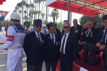 Mersin Cumhuriyet Meydanında 30 Ağustos Zafer Bayramı Çelenk Koyma Törenine Katılımımız.-01