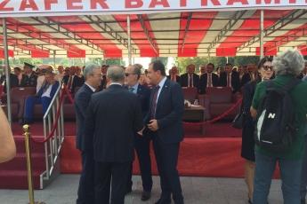 Mersin Cumhuriyet Meydanında 30 Ağustos Zafer Bayramı Çelenk Koyma Törenine Katılımımız.-02