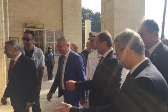 Mersin Kültür Merkezinde 30 Ağustos Zafer Bayramı Tebrigatına Katılımımız.-01