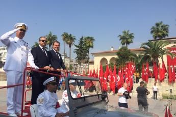 Mersin Cumhuriyet Meydanında 30 Ağustos Zafer Bayramı Kutlamalarına Katılımımız.-02
