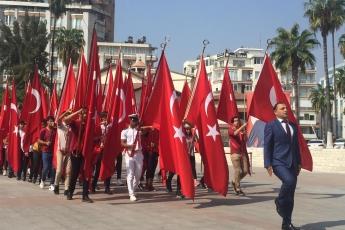Mersin Cumhuriyet Meydanında 30 Ağustos Zafer Bayramı Kutlamalarına Katılımımız.-06