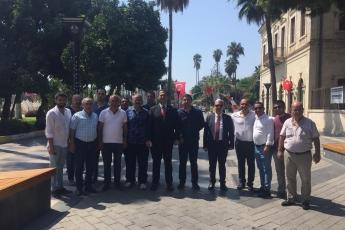 Mersin Cumhuriyet Meydanında CHP İl Başkanlığının 30 Ağustos Zafer Bayramı Çelenk Koyma Töreni ve Kutlamalarına Katılımımız.-06