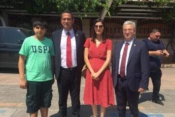 Mersin Cumhuriyet Meydanında CHP İl Başkanlığının 30 Ağustos Zafer Bayramı Çelenk Koyma Töreni ve Kutlamalarına Katılımımız.-07