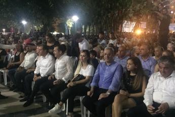Mersin Büyük Şehir ve Yenişehir Belediyelerinin Düzenlediği 30 Ağustos Zafer Bayramı Fener Alayı ve Müzik Konserlerine Katılımımız.-05