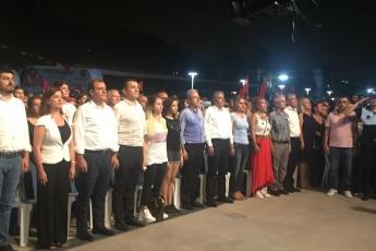 Mersin Büyük Şehir ve Yenişehir Belediyelerinin Düzenlediği 30 Ağustos Zafer Bayramı Fener Alayı ve Müzik Konserlerine Katılımımız.-06