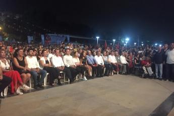 Mersin Büyük Şehir ve Yenişehir Belediyelerinin Düzenlediği 30 Ağustos Zafer Bayramı Fener Alayı ve Müzik Konserlerine Katılımımız.-07