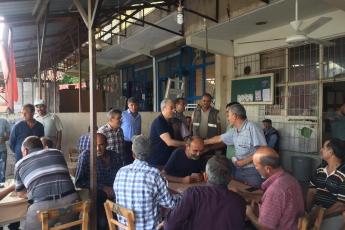 Mersin Arslanköy'de Kahvehane ve Çarşı Esnafını Ziyaretimiz.-01