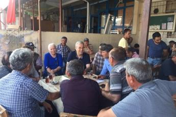 Mersin Arslanköy'de Kahvehane ve Çarşı Esnafını Ziyaretimiz.-03