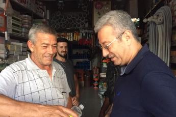 Mersin Arslanköy'de Kahvehane ve Çarşı Esnafını Ziyaretimiz.-05