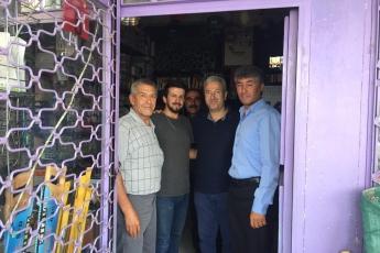 Mersin Arslanköy'de Kahvehane ve Çarşı Esnafını Ziyaretimiz.-06