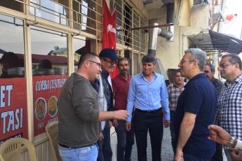 Mersin Arslanköy'de Kahvehane ve Çarşı Esnafını Ziyaretimiz.-08