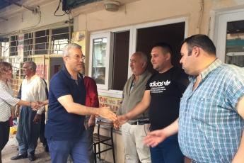 Mersin Arslanköy'de Kahvehane ve Çarşı Esnafını Ziyaretimiz.-10