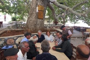 Mersin Arslanköy'de Kahvehane ve Çarşı Esnafını Ziyaretimiz.-13