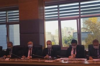 Adalet Komisyonu'nda Adalet Bakanı ile toplantıdayız. Yargıda yapılması gereken düzenlemeleri anlatıyoruz.