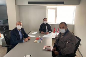 İl Başkanlığımızı ziyaret ederek, İl Saymanımız Servet Gülenay ve İl Başkan Yardımcımız Serhat Bektaş ile sohbet ettik.