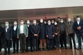Genel Başkan Yardımcımız, Grup Başkan Vekilimiz, Vekillerimizle Birlikte İl Başkanlığımızı Ziyaret Ettik.