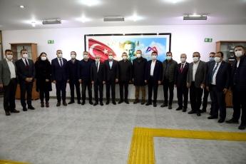 Genel Başkan Yardımcımız, Grup Başkan Vekilimiz, Vekillerimizle Birlikte Büyükşehir Belediye Başkanımızı Ziyaret Ettik.