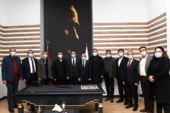 Genel Başkan Yardımcımız, Grup Başkan Vekilimiz, Vekillerimizle Birlikte Yenişehir Belediye Başkanımızı Ziyaret Ettik.