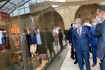 Tarsus Belediyesinin Tarsus'umuza kazandırmış olduğu Kubat Paşa Medresesi Tarsus Kültür Evi açılışına katıldık.