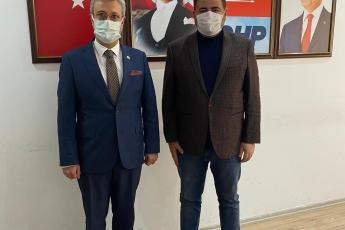 Mezitli İlçe Başkanımız Ahmet Serkan Tuncer'e Babasının Vefatı Sebebiyle Taziye Ziyaretinde Bulunduk.
