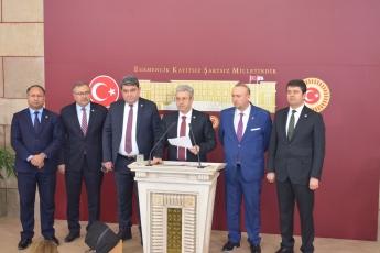 TBMM Basın Toplantı Odası, AKP nin Liyakatsiz Kadrolaşma Çalışmaları Hakkında Basın Açıklamamız-1