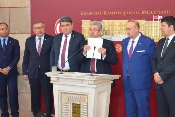 TBMM Basın Toplantı Odası, AKP nin Liyakatsiz Kadrolaşma Çalışmaları Hakkında Basın Açıklamamız-2