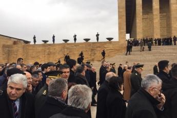 II. Cumhurbaşkanımız İsmet İNÖNÜ'yü anmak için Anıtkabir'deyiz-05