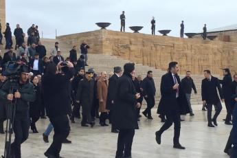 II. Cumhurbaşkanımız İsmet İNÖNÜ'yü anmak için Anıtkabir'deyiz-07