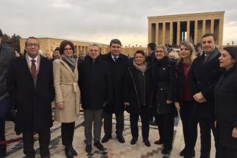II. Cumhurbaşkanımız İsmet İNÖNÜ'yü anmak için Anıtkabir'deyiz-09