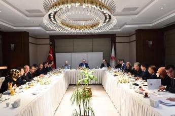 Adalet Bakanının Adalet Komisyonunu Yeni Yargı Stratejisi Bilgilendirme Toplantısına Katılımımız-03