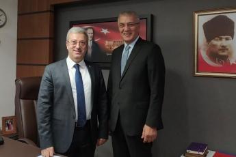 Mersin Mezitli Belediye Başkanımız Sayın Neşet Tarhan'ın TBMM'de Bizi Ziyareti.